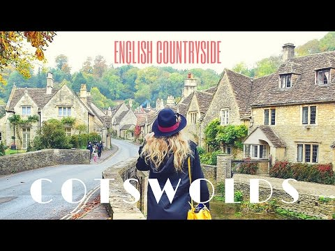 ROMANTIC ENGLAND - trip to the Cotswolds