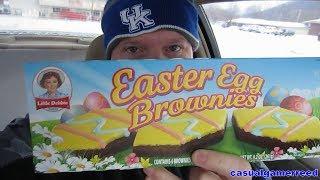 Reed Reviews - Little Debbie Easter Egg Brownies