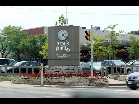 Banbury - Don Mills Neighbourhood of Toronto - Walk through the community and view MLS Listings