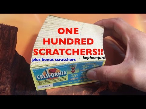 100X I HEART CALIFORNIA SCRATCHERS PLUS GRAND PRIZE!! For Giveaway Winners