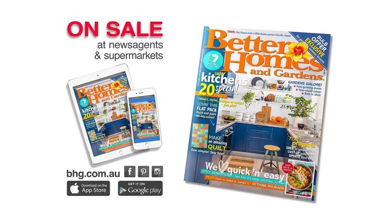 Better Homes And Gardens Australia September 2016