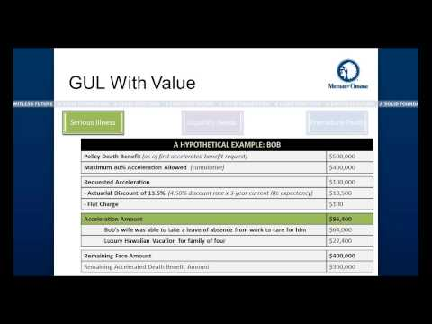 United of Omaha s GUL with Living Benefits 2-27-2015