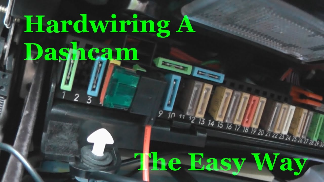 Hardwiring A Dashcam The Easy Way Youtube 1998 Volvo S90 Fuse Box