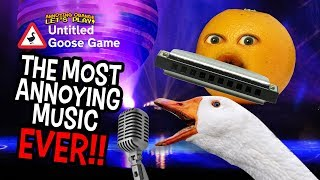 The Most Annoying Music Ever | Untitled Goose Game #5 Video