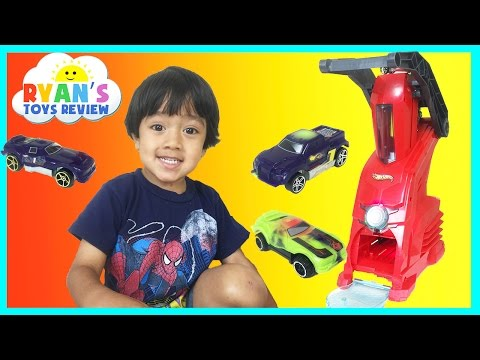 Thumbnail: HOT WHEELS CAR MAKERS PLAYSET Toy for kids Ryan ToysReview