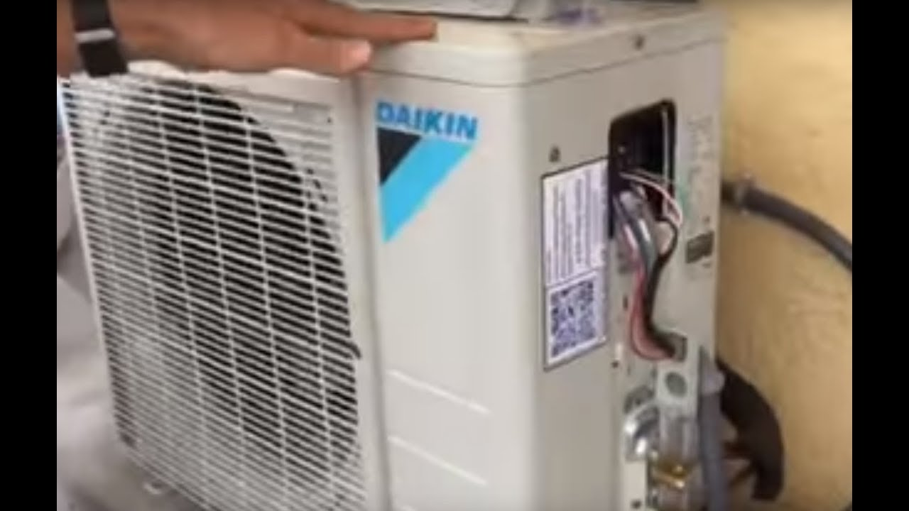 Daikin Mini Split Installation