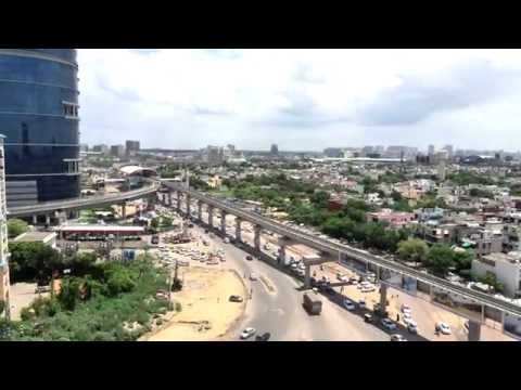 Gurgaon Rapid Metro | Aerial View From SKY
