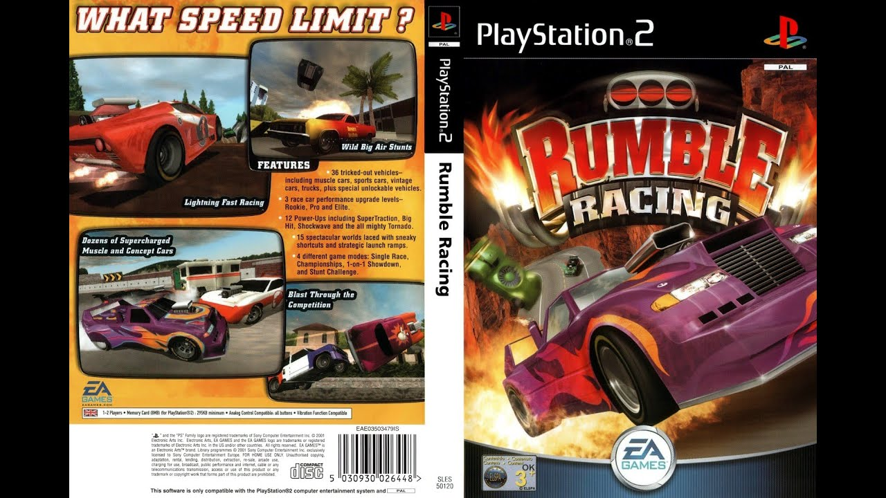 jeux de rumble racing ps2