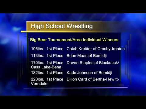 Big Bear Wrestling Tournament   Lakeland News At Ten   December 23, 2013