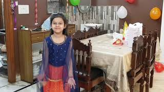 Indian Birthday party & birthday cake vlog / party celebration for indian kids / eggless cake recipe