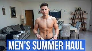 HUGE Men's Summer Clothing Haul & Try On 2019