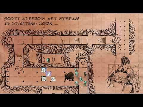 Aleric's Art Stream - Air Elemental