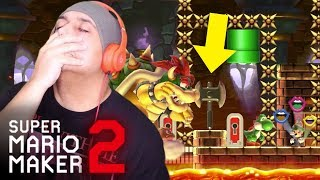 WHY IN THE FFFF WOULD YOU DO THIS!!? [SUPER MARIO MAKER 2] [#48]