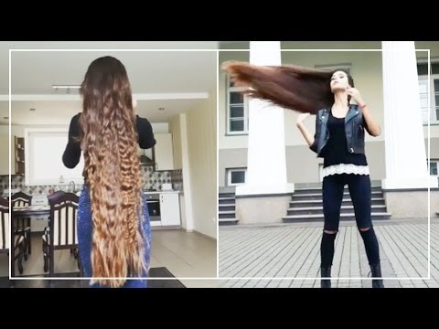 Look At The Beauty Of The Long Hair Compilation