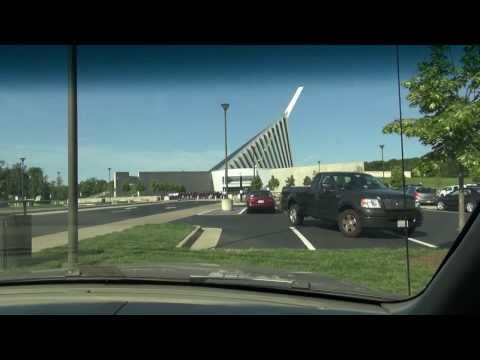 Driving in Virginia, Triangle to National Museum of the Marine Corps