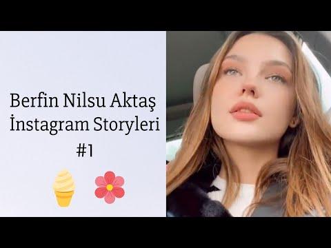 ✨ Berfin Nilsu Aktaş ~ İnstagram Storyleri #1 🦋