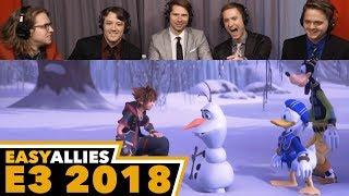Kingdom Hearts III - Easy Allies Reactions - E3 2018