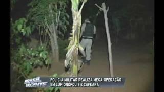 Pm realiza Operação em Lupionópolis e Cafeara