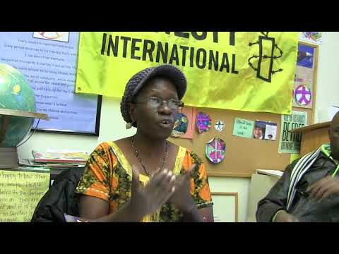 20180322 Professor Omwa Ombara at Amnesty International Part 1 (c) SJDodgson