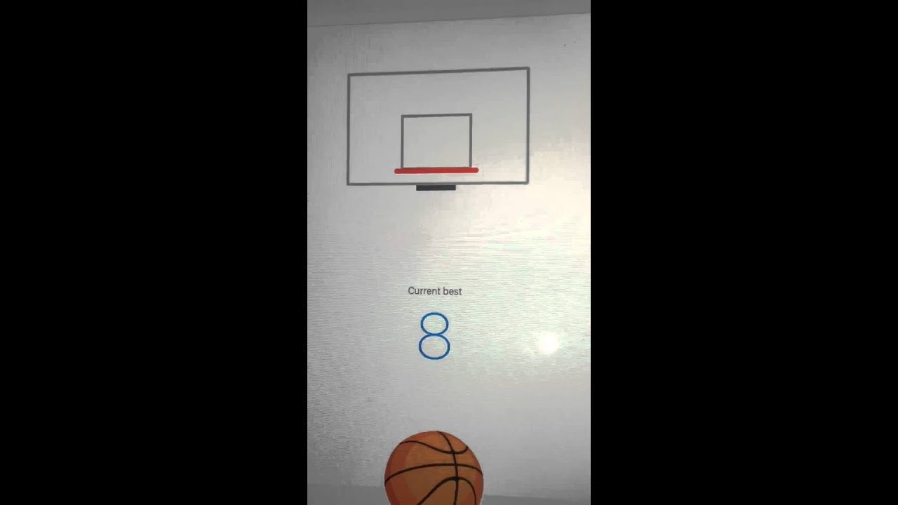 How to make the Facebook Messenger basketball game less frustrating
