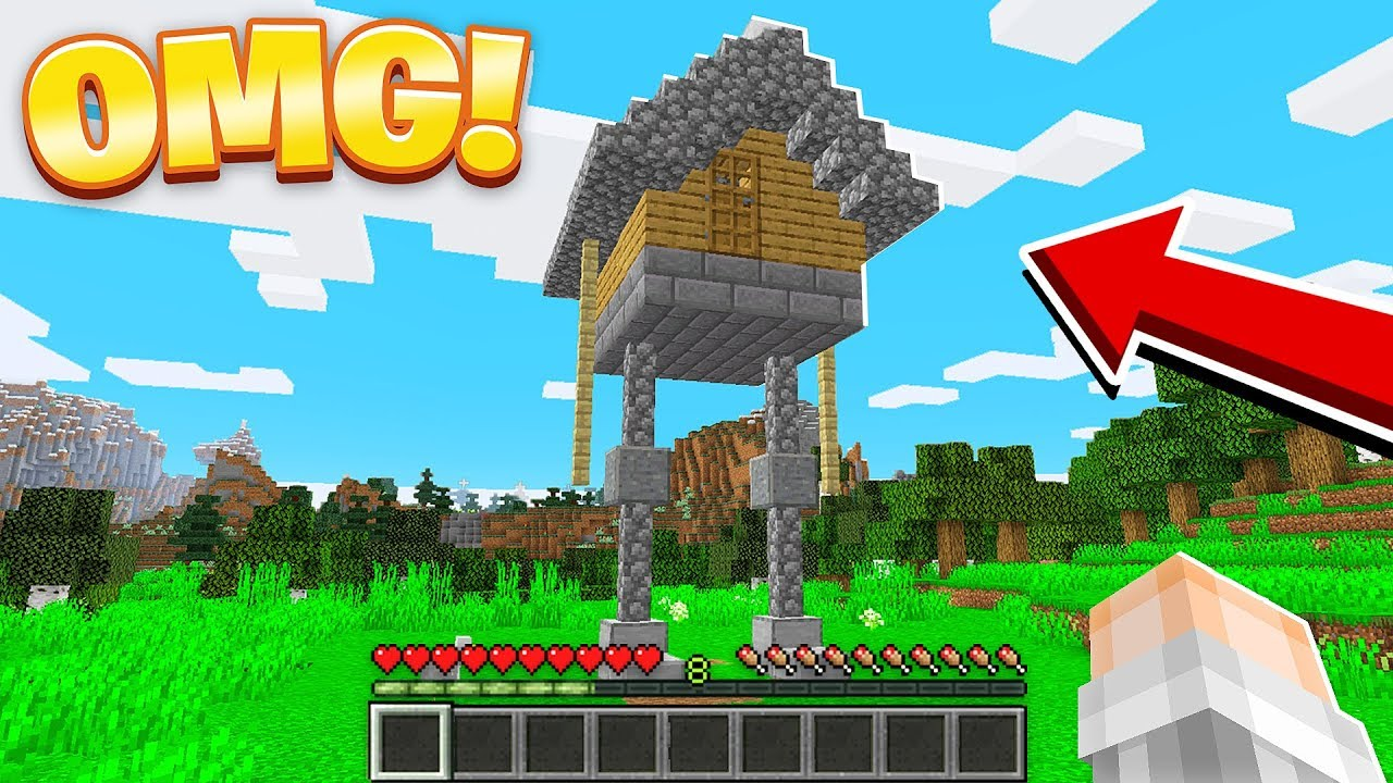 Easy MOVING & WALKING HOUSE in Minecraft 9.94!