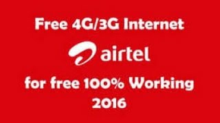 Letest Trick of Airtel 3g free Internet on Android(Droid vpn apk- http://sh.st/IjaxX Headers- Host: one.airtel.in/ X-Online-Host: one.airtel.in/ This Video on Free Internet Trick On Android Phone. How to..., 2016-04-19T08:17:15.000Z)