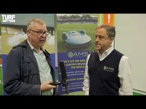 AMS at SALTEX 2017 catch up with Turf Matters