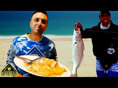 Sweet and Spicy South African way Air Fried Kob Mulloway [CATCH COOK]
