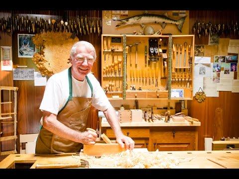 Frank Klausz Woodworking Workshop Tour