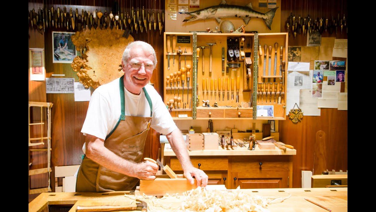 Frank Klausz Woodworking Workshop Tour  YouTube