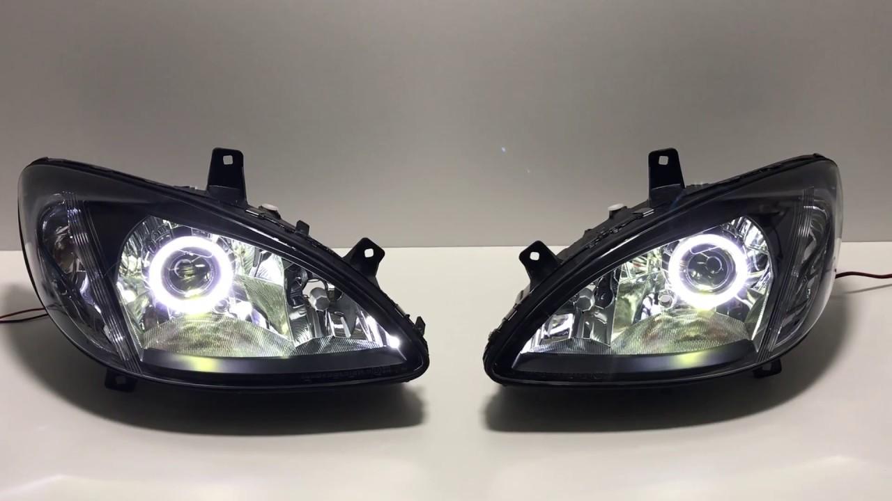 reflektory do mercedes vito viano w639 lampy bixenon. Black Bedroom Furniture Sets. Home Design Ideas