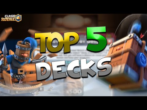TOP 5 DECKS TO DOMINATE ROYAL DELIVERY DROP CHALLENGE!