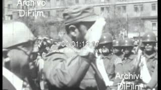 DiFilm - Fidel Castro con Salvador Allende Palacio de La Moneda 1971
