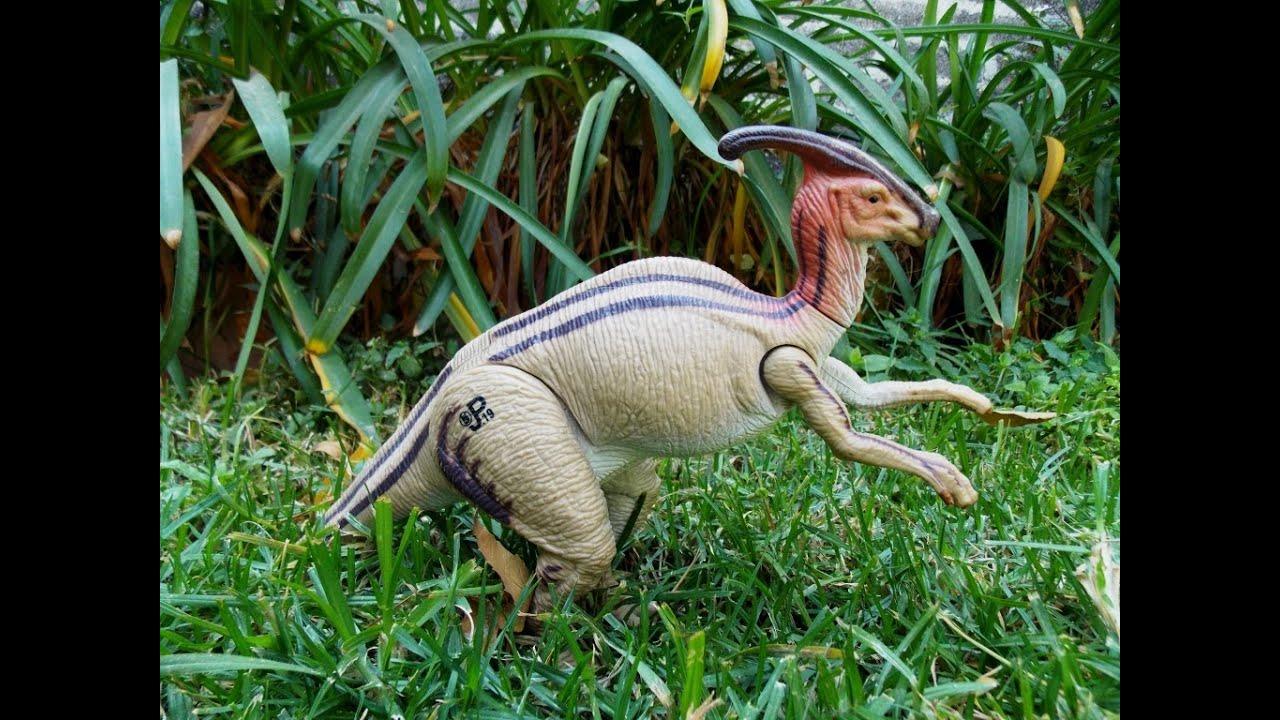 Parasaurolophus jurassic park - YouTube