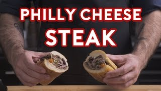 "Binging with Babish - How to make a real Philly Cheesesteak from ""Creed"""