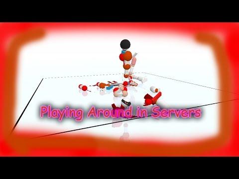 Playing around in Servers | Toribash