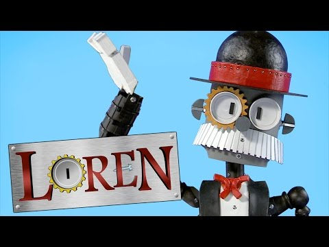 Loren The Robot Butler: Teach Me How To Dougie!