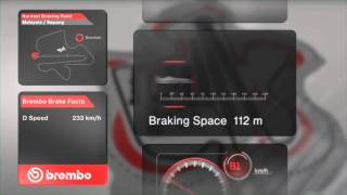 F1 2014 - Grand Prix of Malaysia - Hardest Breaking Point (3D animation HD)