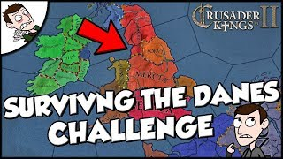 Trying to Save England from the Danes on Crusader Kings 2 CK2