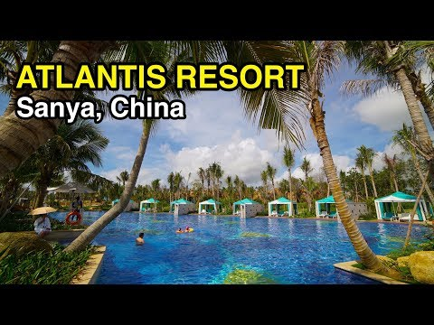 *Just Opened* [4K] Atlantis Resort: Hotel Highlights (Sanya, China)