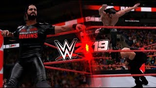 WWE 2K19 - SETH ROLLINS ENTRANCE, ATTIRE & FINISHER! [CONCEPT]