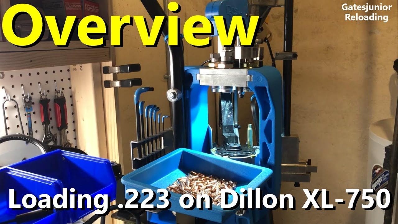Reloading .223 on Dillon XL750