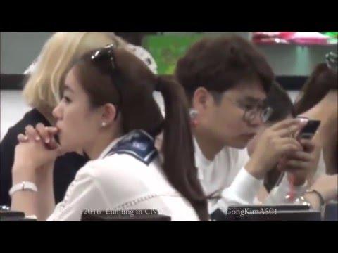 17.5.2016 EunJung T-ara at CNX