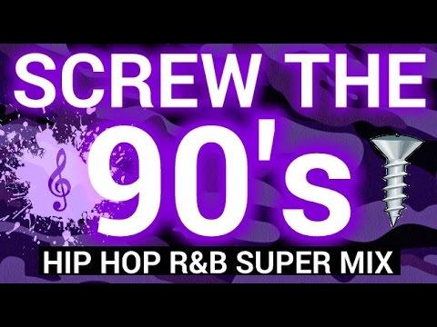 90's RAP R&B SUPER MIX [Slowed Down/Screwed & Chopped] By Dj Slowjah