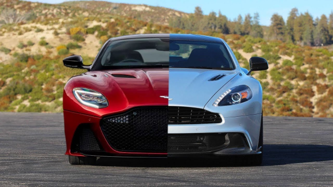 2019 Aston Martin Dbs Superleggera Vs 2018 Aston Martin Vanquish S Youtube