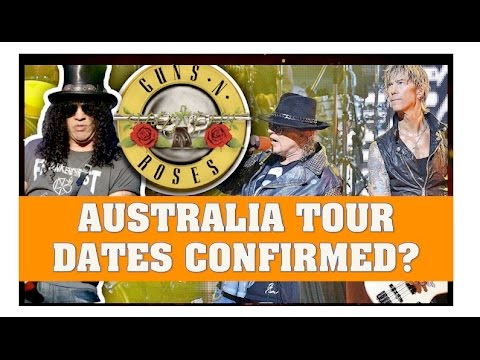 Guns N' Roses News  Australia Tour Date Confirmed? February 14th in Melbourne?