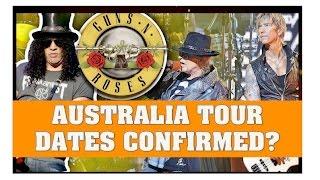 Guns N' Roses News  Australia Tour Date Confirmed? February 14th in Melbourne?