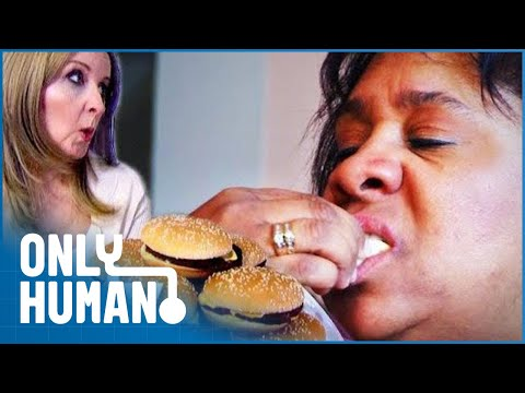 Woman Eats Nine Cheeseburgers a Day | Eat Yourself Sexy S1 EP1
