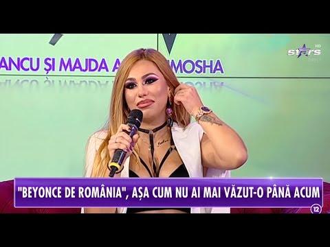 Beyonce de România, așa cum nu ai mai văzut-o până acum