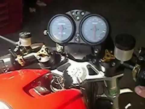 DUCATI monster 916 S4 café-racer avec termignoni et rizoma ...